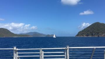 Ferry ride to Tortola