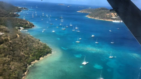 View from the seaplane