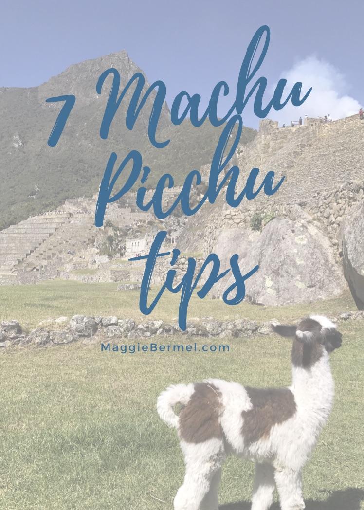 7machupicchutips